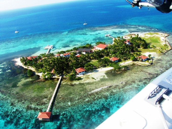 Hatchet Caye (photo courtesy of Hatchet Caye Resort)