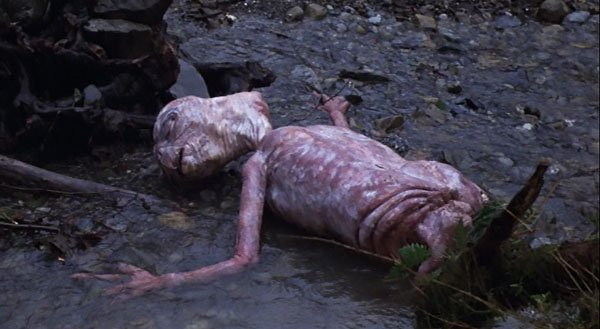 Image result for E.T. in a ditch